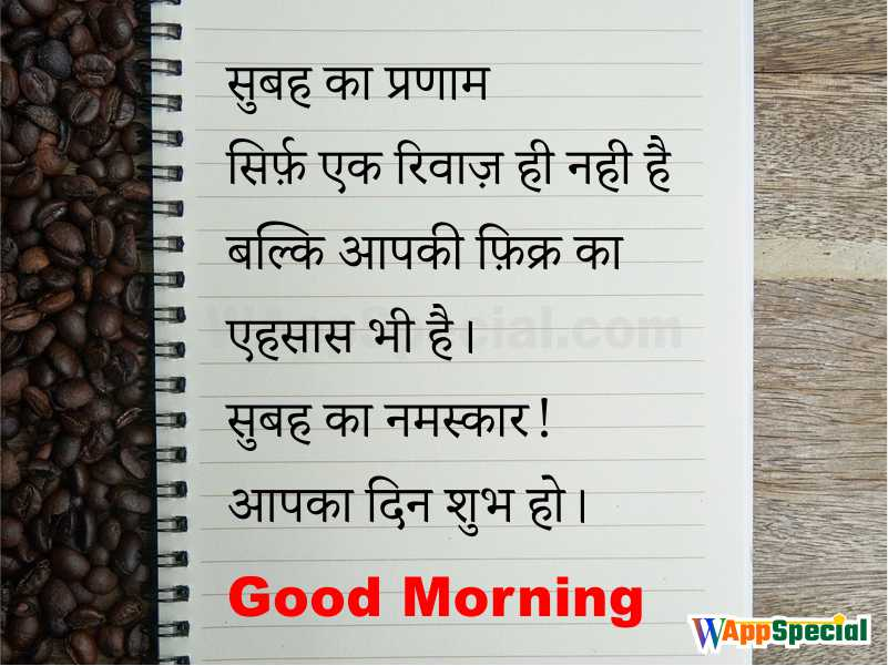 Hindi Morning Quotes for Friends