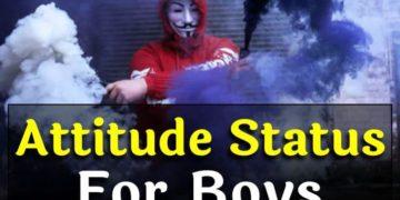 Attitude Status Boys