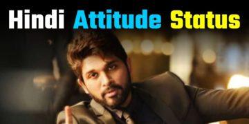 Hindi Attitude Status FB