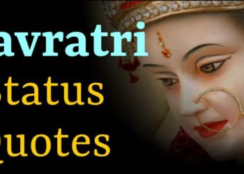 Navratri Status and Quotes